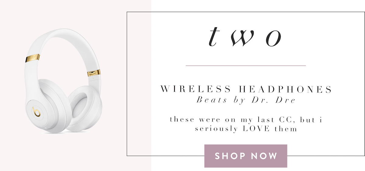 fashionaholic travel essentials - beats wireless headphones