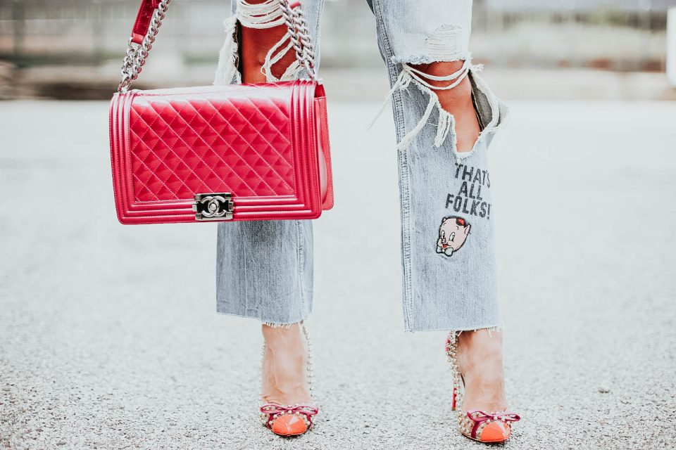 Janet Mandell of Fashionaholic sharing her favorite Chanel Handbags from The Real Real
