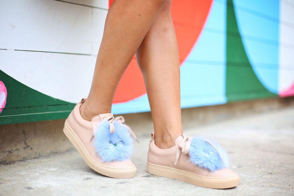 Janet Mandell of Fashionaholic wearing Josfinas shoes