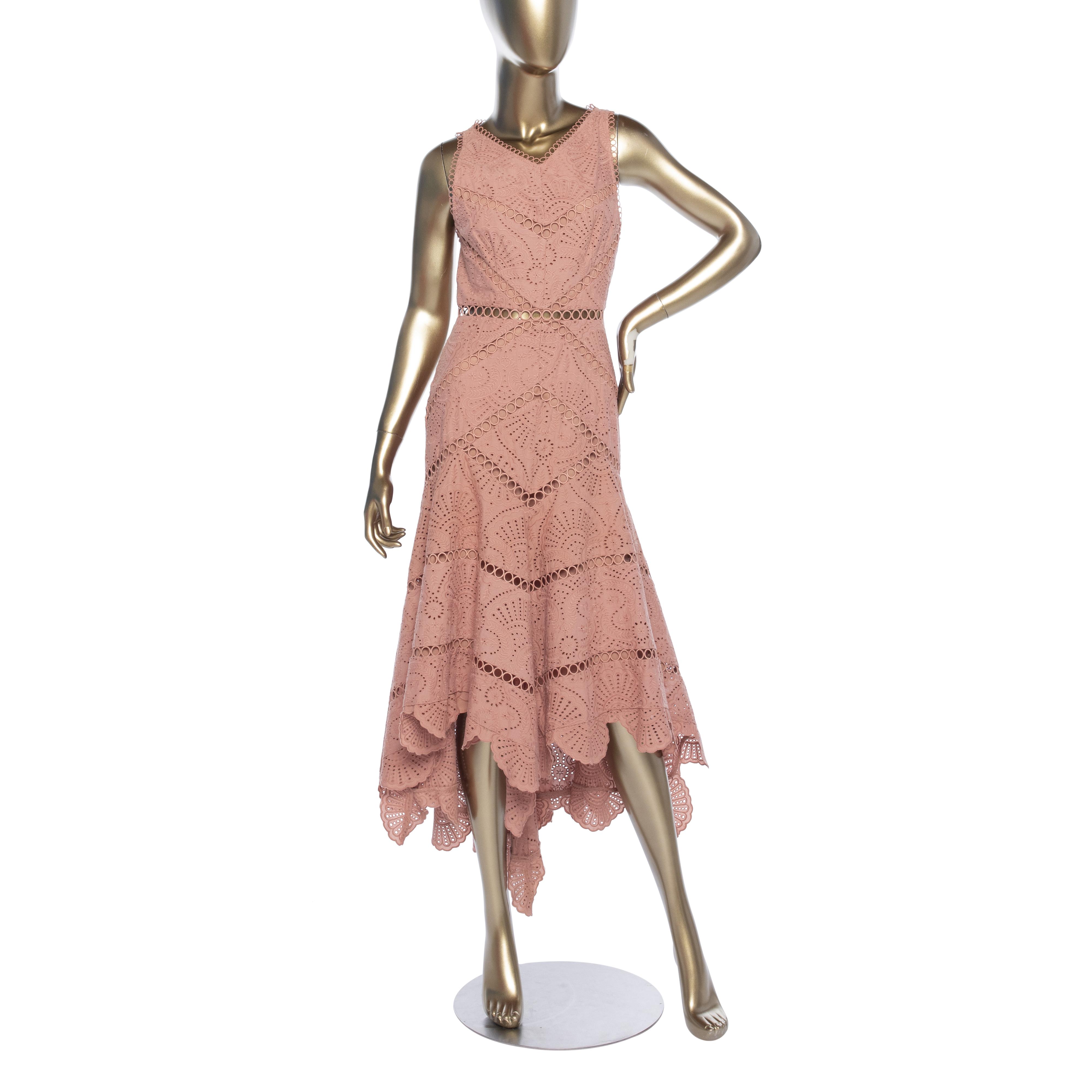 Zimmermann Jasper Fan Lace Dress